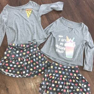 2 adorable outfits excellent condition